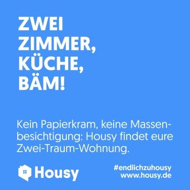plakat_sqaure_Housy2019_BLAU_zweizimmer